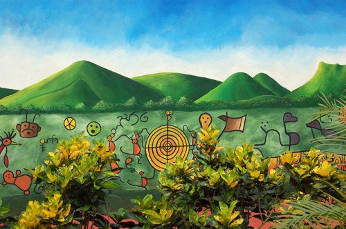Peinture murale à Chagüitillo