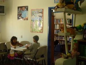 Bibliothèque de San Juan del Sur